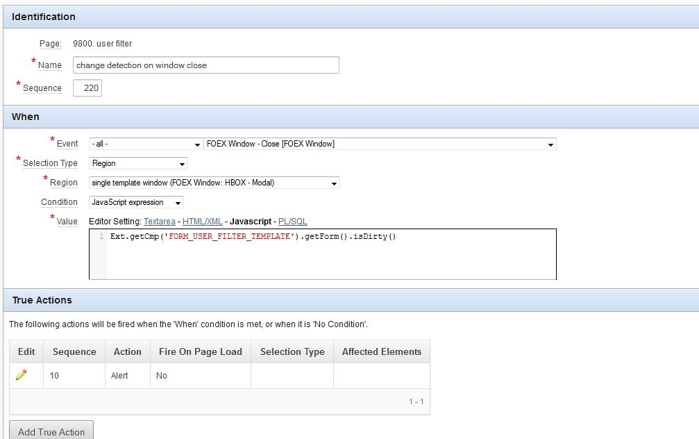 automatic change detection on forms with no DB-column based fields ...
